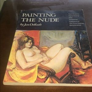 Painting in the nude by Jan deruth book 1976 paint